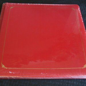 One Creative Memories Red Gold border Album 12x12